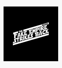 The National - Fake Empire - Star Wars Photographic Print