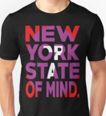 7 Train New York State of Mind New York Raised Me Unisex T-Shirt