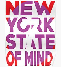7 Train New York State of Mind New York Raised Me Poster
