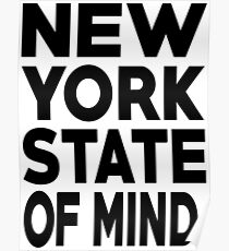 New York State of Mind New York Raised Me Poster