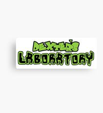 Dexter's Laboratory Canvas Print
