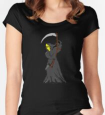 Smile When Your Heart Is Breaking Women's Fitted Scoop T-Shirt