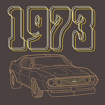 AMX 1973 by GetSpeedbird