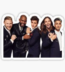 fab five queer eye Sticker