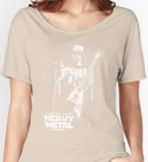 Funny Darth Vader Heavy Metal Women's Relaxed Fit T-Shirt