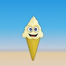 Ice Cream Cone by Malcolm Kirk