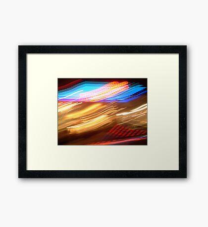 seaside Lights 42 Framed Print