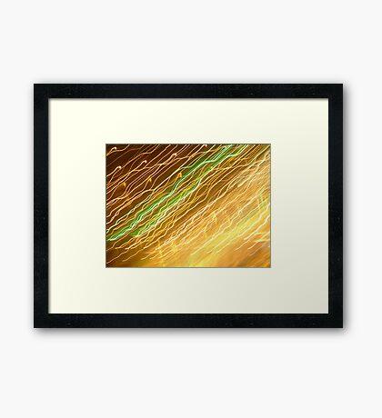 Seaside Lights 03 Framed Print