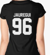 #FIFTHHARMONY, Lauren Jauregui Women's Fitted Scoop T-Shirt