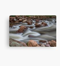 Rocky Mountain Flow Canvas Print