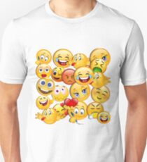 Emoticons I Unisex T-Shirt