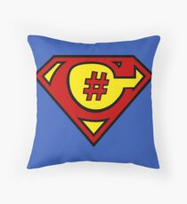 C# Hero Throw Pillow