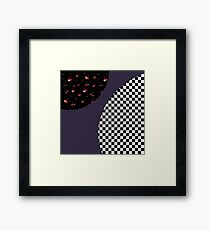 Mod cherries Framed Print