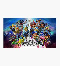 Super Smash Bros. Ultimate Characters Photographic Print