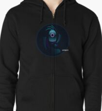 Abstract/Space Shirt-Paralyzed Lost in Space Zipped Hoodie