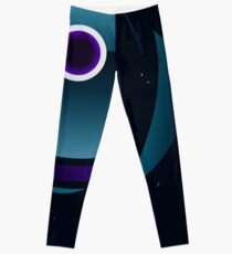 Abstract/Space Shirt-Paralyzed Lost in Space Leggings