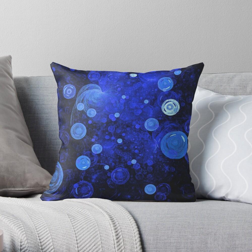 Ocean Gems Throw Pillow