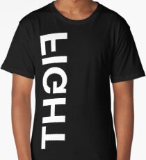FIGHT - white text Long T-Shirt