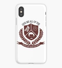 Give Me All the Bacon and Eggs You Have iPhone Case