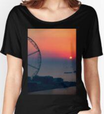 Largest Ferris wheel of the World, Dubai, UAE Women's Relaxed Fit T-Shirt