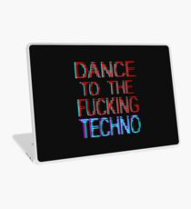 dance to the techno Laptop Skin