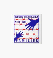 Reunite the Children with their Families Art Board