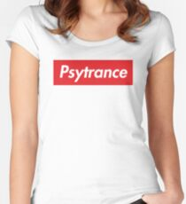 Psytrance Women's Fitted Scoop T-Shirt
