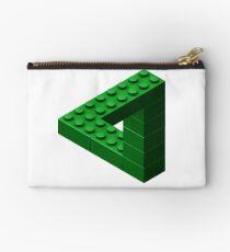 Escher Toy Bricks - Green Studio Pouch