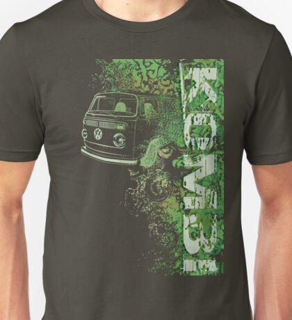 Volkswagen Kombi Tee shirt - Grunge Green T-Shirt