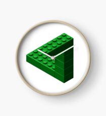 Escher Toy Bricks - Green Clock