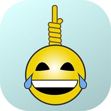 Gallows Humor Emoji by HenryGaudet