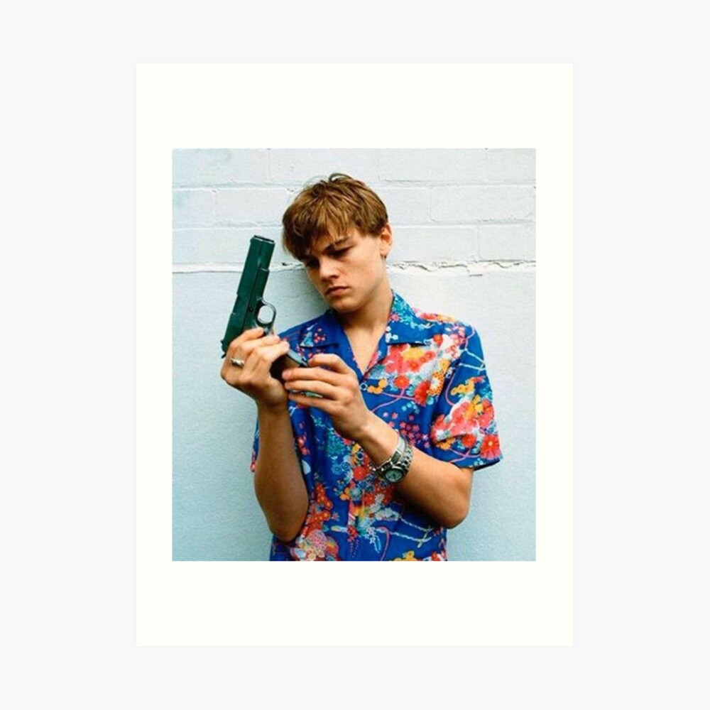 Leo as Romeo  Art Print