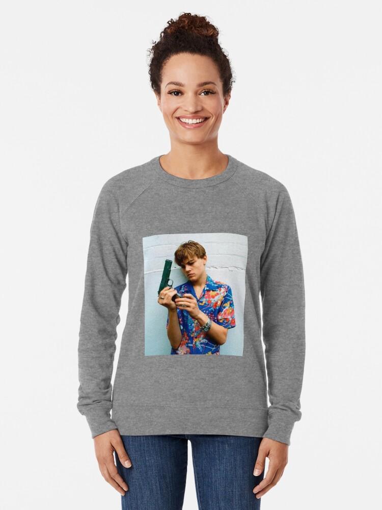 Alternate view of Leo as Romeo  Lightweight Sweatshirt