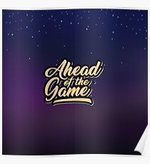 Ahead of the Game Poster