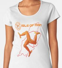 Isle of Man  Women's Premium T-Shirt