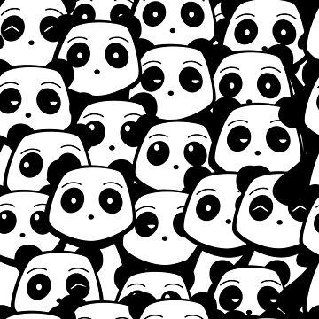 Panda Pattern by pda1986