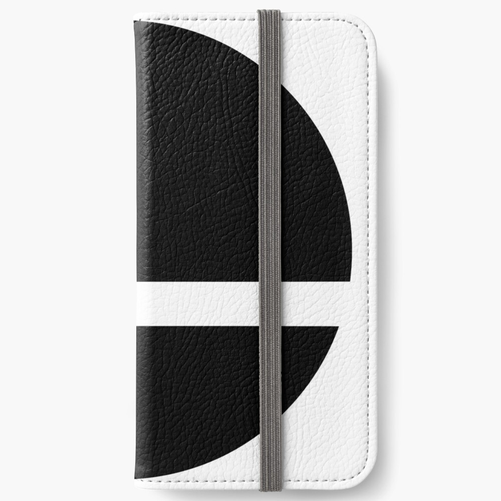 Super Smash Bros. Ultimate LOGO! iPhone Wallet