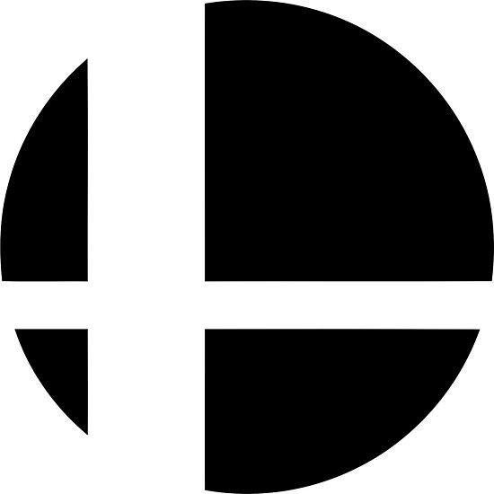 Lámina fotográfica «Super Smash Bros. Ultimate LOGO!» de ...