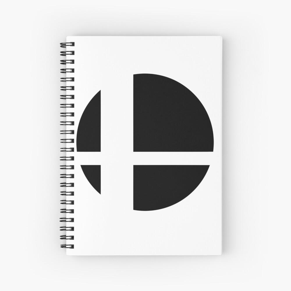 Super Smash Bros. Ultimate LOGO! Spiral Notebook
