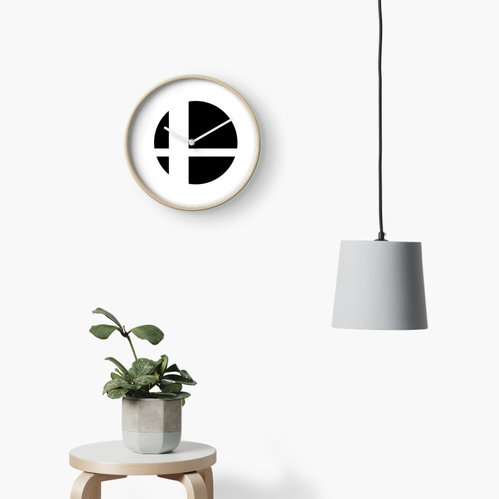 Super Smash Bros. Ultimate LOGO! Clock
