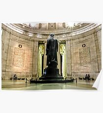 Thomas Jefferson Statue  Poster