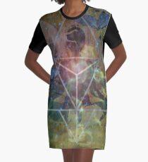 MER-KA-BA Graphic T-Shirt Dress