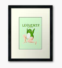 Leguin - Green Framed Print