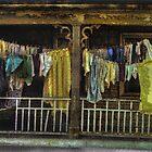 American Gothic Washday by Wayne King