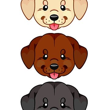 Labrador Sticker Set by cucuy