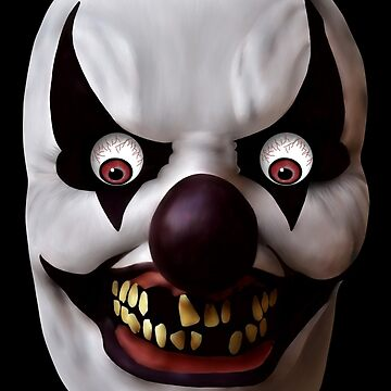 Evil Clown from Hell by BURPdesigns