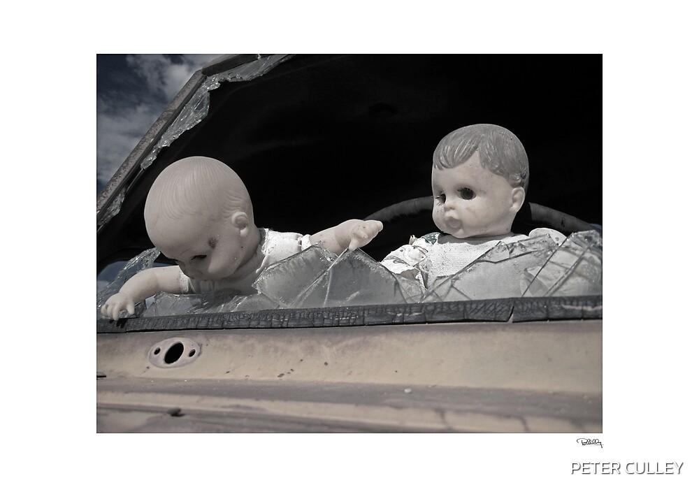 'Dolls shouldn't drive...' Catavina, Baja Peninsula, Mexico. by PETER CULLEY