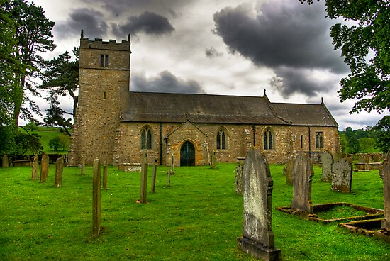 Holy Trinity - Coverham,Yorkshire Dales by Trevor Kersley