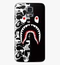 black n white bape  Case/Skin for Samsung Galaxy