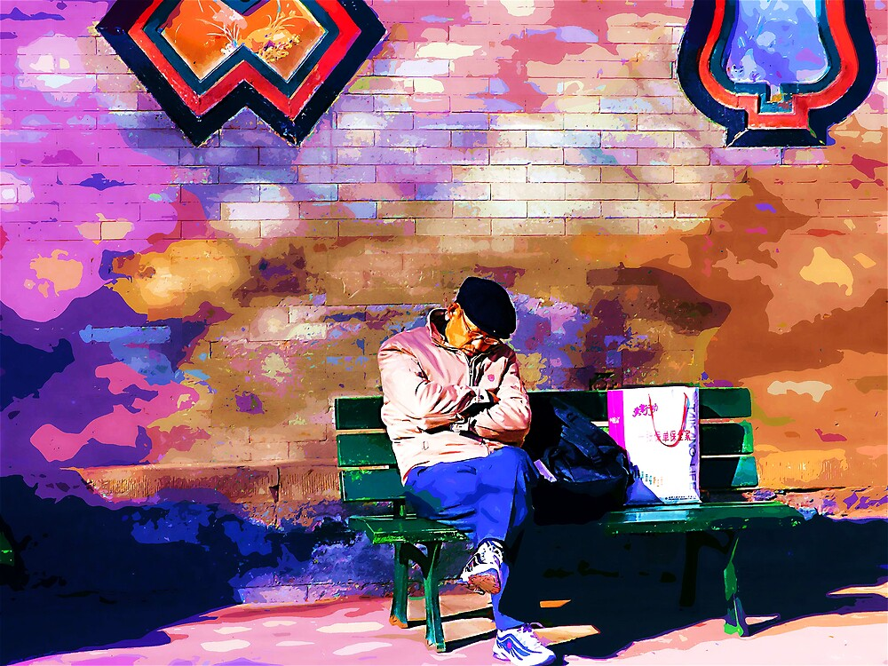 Beijing Dreaming Man by marcwellman2000